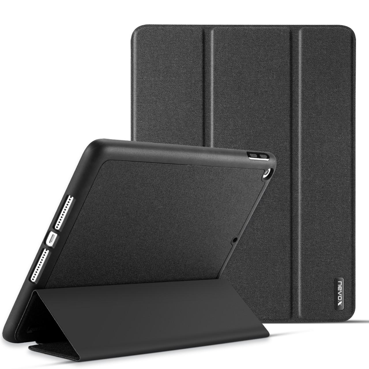 """Nevox Vario Booktasche für iPad 7.Gen. 10.2"""", basaltgrau"""