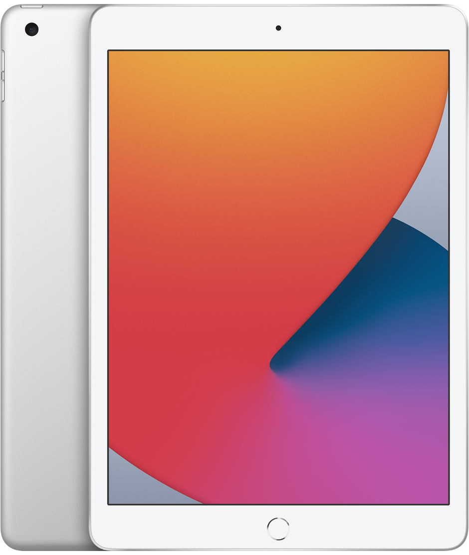 """Apple iPad 10,2"""" 2020 Wi-Fi + Cell. 32 GB Silver"""