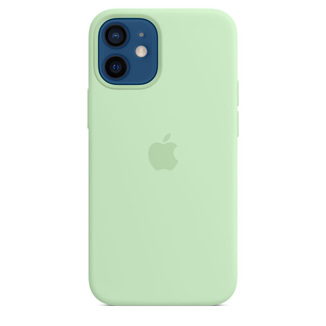 Apple iPhone 12 mini Silicone Case with MagSafe Pistachio