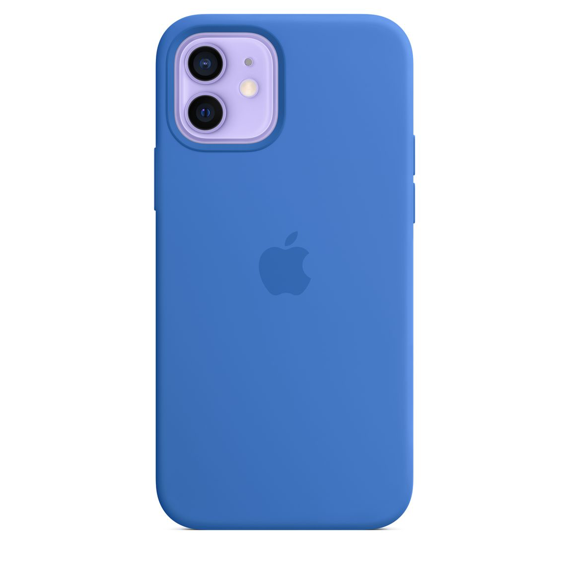 Apple iPhone 12 Pro Max Silicone Case with MagSafe Capri Blue