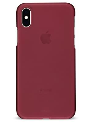 Artwizz Rubber Clip für iPhone XR berry