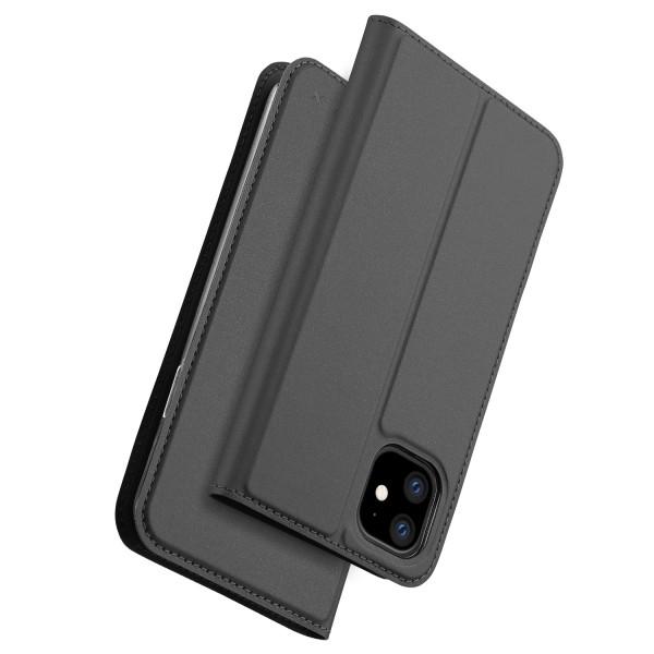 Nevox Vario Booktasche für iPhone 11 basaltgrau