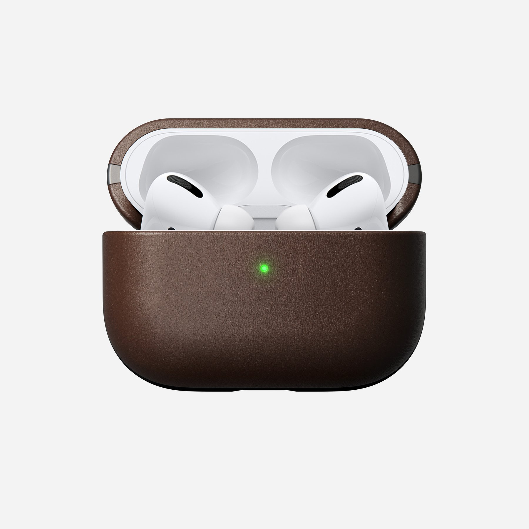 Nomad Airpods Pro Case Rustic Brown Leather
