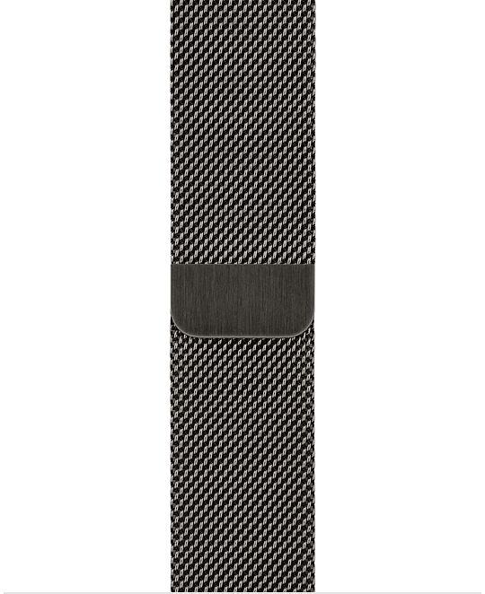 Apple Watch 44 mm Graphite Milanese Loop