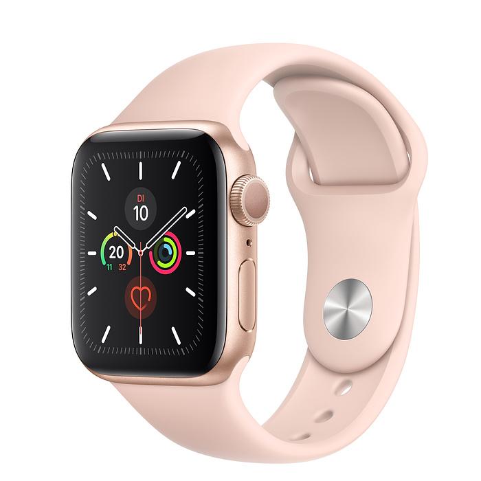 Apple Watch Ser5 Alu Gold GPS 40mm Pink Sand Sport Band