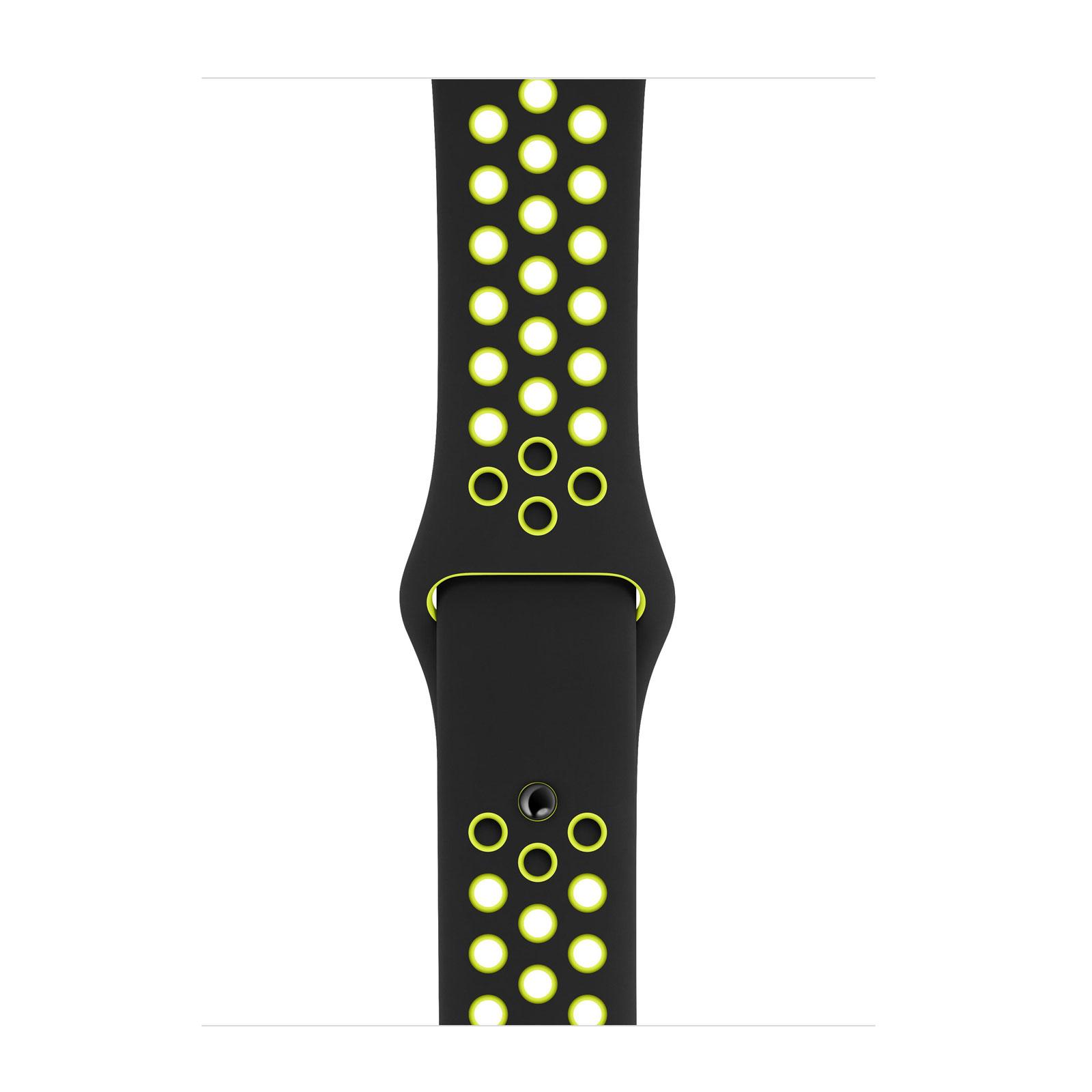 Apple Watch 40mm Black/Volt Nike Sport Band - S/M & M/