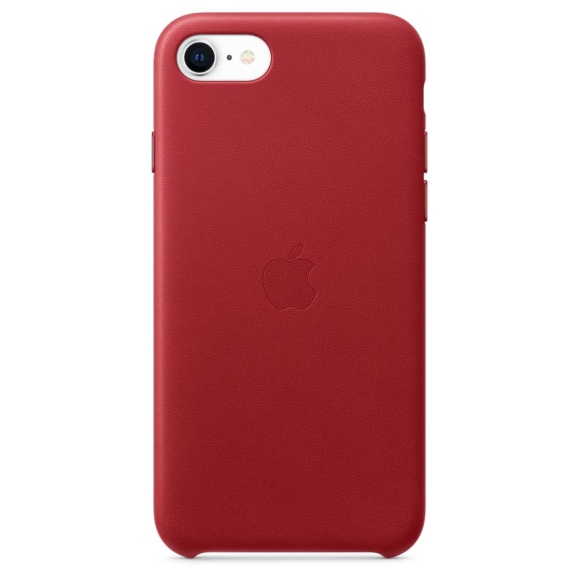Apple iPhone SE Leather Case (PRODUCT)RED (2020)