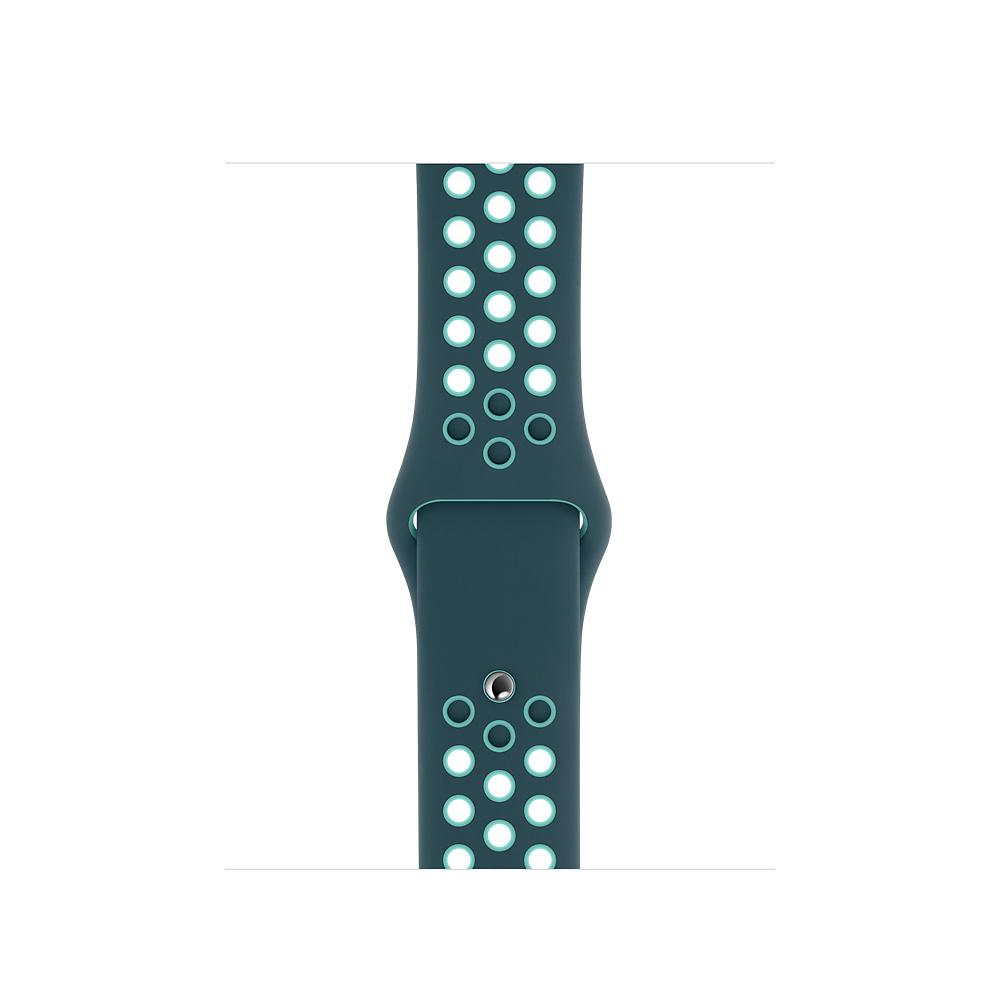 Apple Watch 40 mm Midnight Turquoise Aurora Green Nike Regular