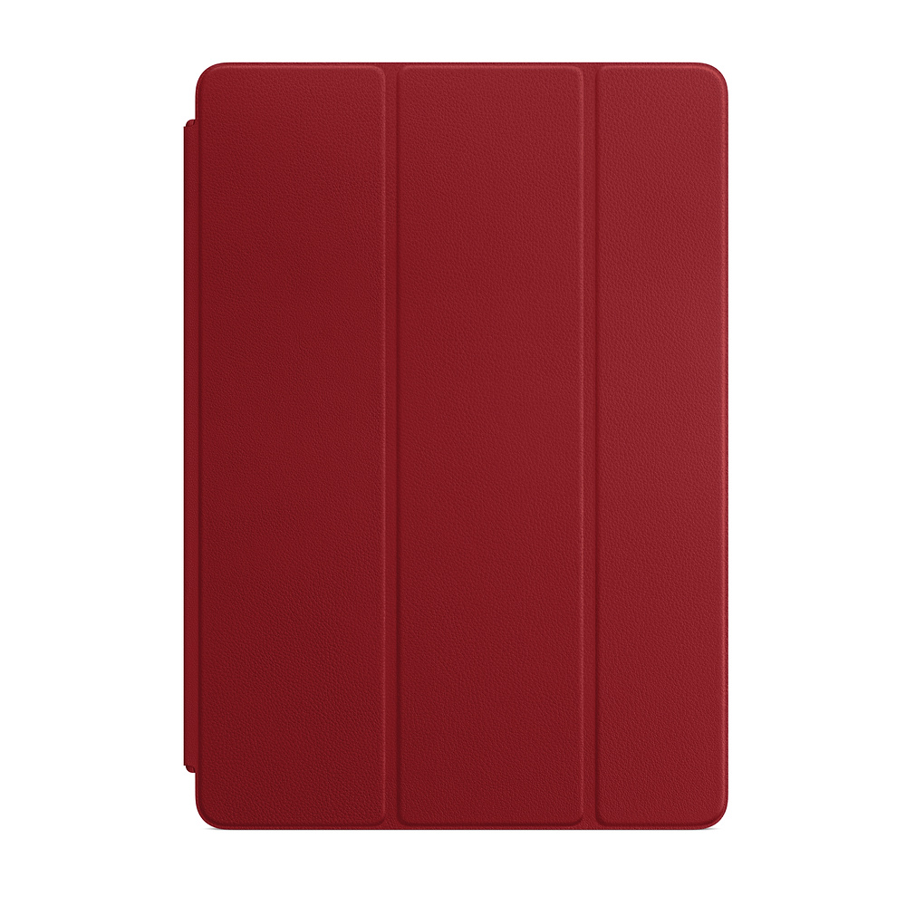 Apple Leather Smart Cover for 10.5_inch iPad Pro - RED