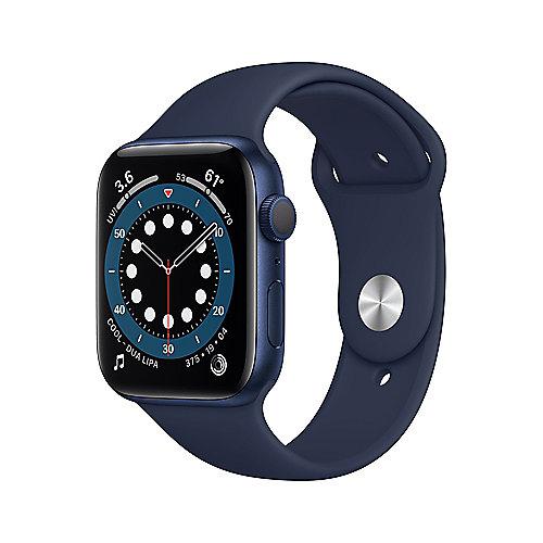 Apple Watch Ser6 Alu Blue GPS 44 mm Deep Navy Sport Band Regular