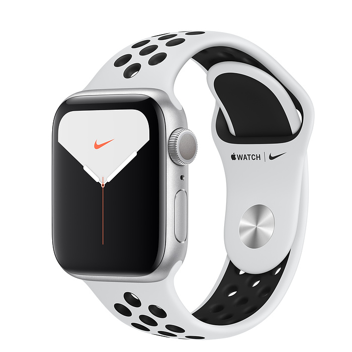 Apple Watch Nike5 Alu Silver GPS 40 mm Plat./Bl. Nike Sport