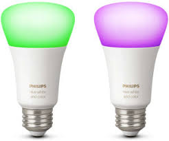 Philips Hue White & Color Ambiance E27 Single Bulb