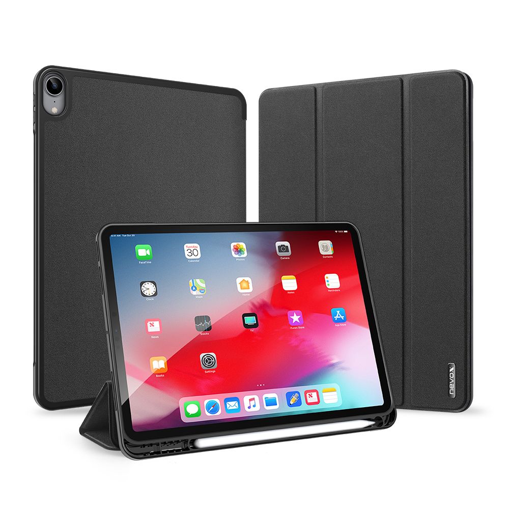 "Nevox Vario Series Booktasche für iPad Air 10.9"" (2020) basaltgrau"