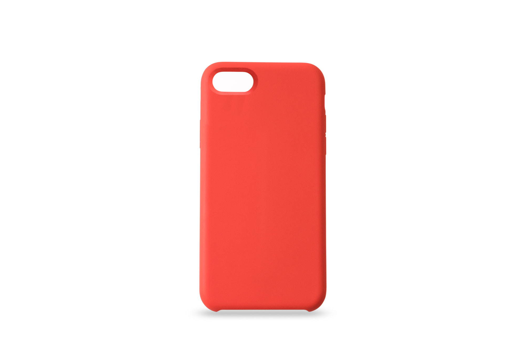 KMP Silicone Case iPhone 8/7 Rot