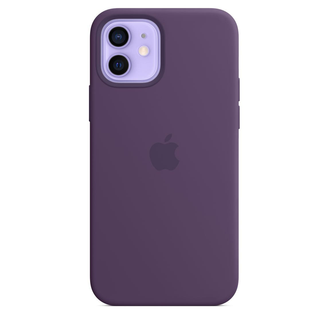 Apple iPhone 12 Pro Max Silicone Case with MagSafe Amethyst