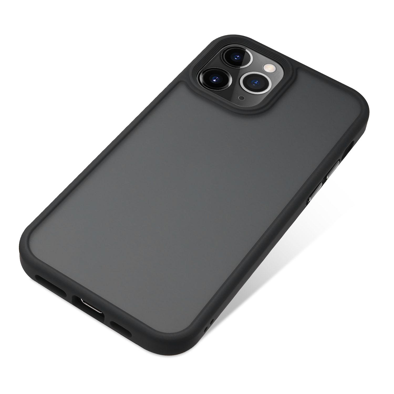 Nevox StyleShell Invisio für iPhone 12 Pro Max black/clear