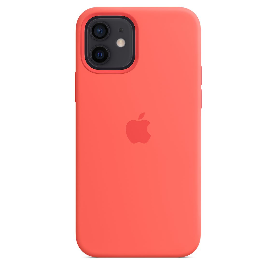 Apple iPhone 12/12Pro Silicone Case with MagSafe Pink Citrus