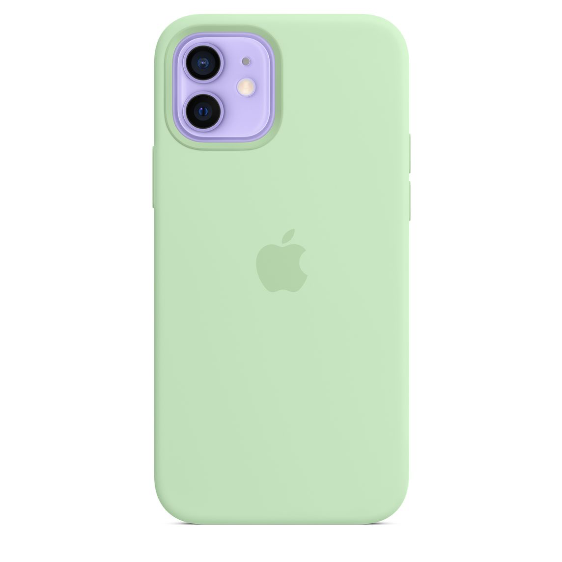 Apple iPhone 12 Pro Max Silicone Case with MagSafe Pistachio