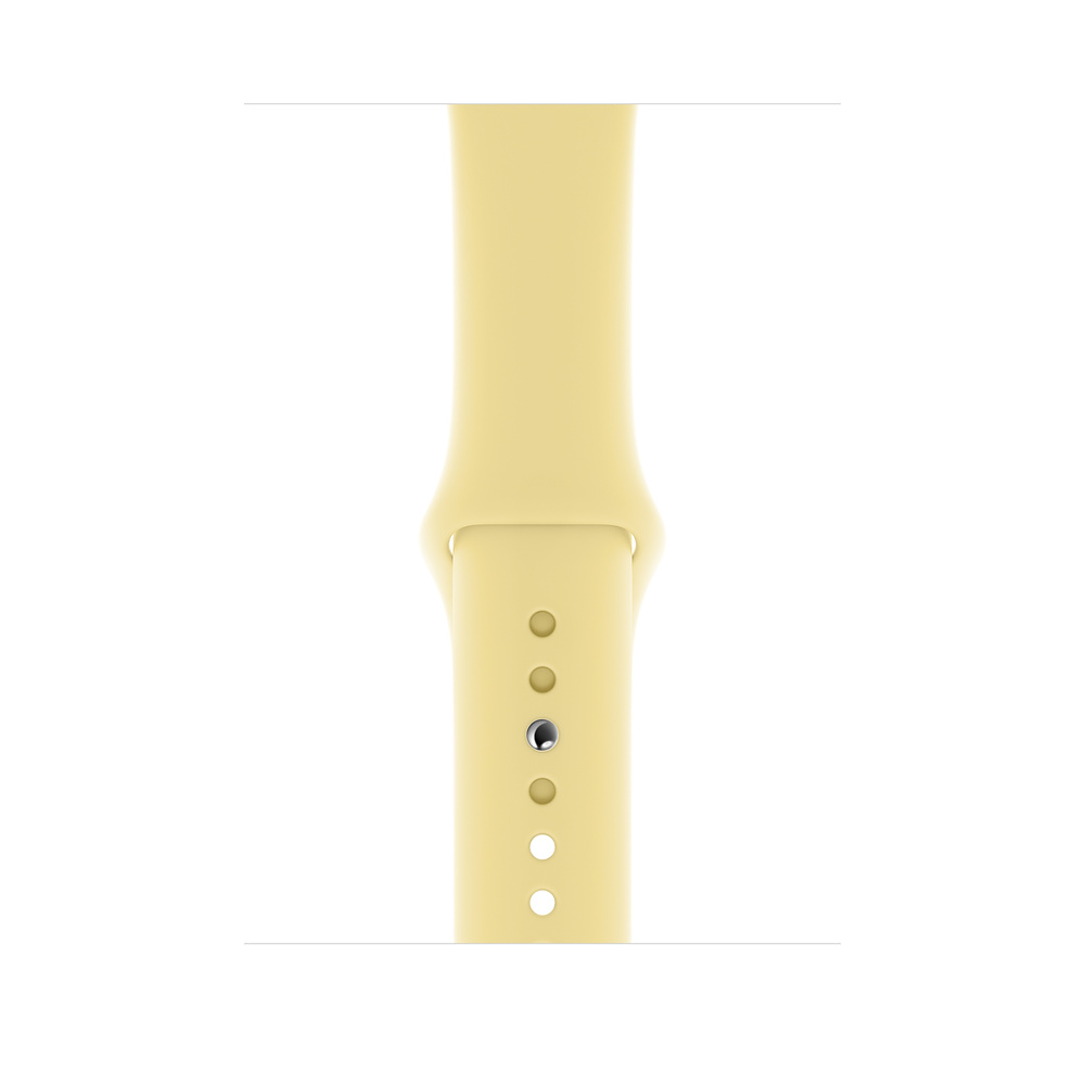Apple Watch 44mm Lemon Cream Sport Band S/M & M/L