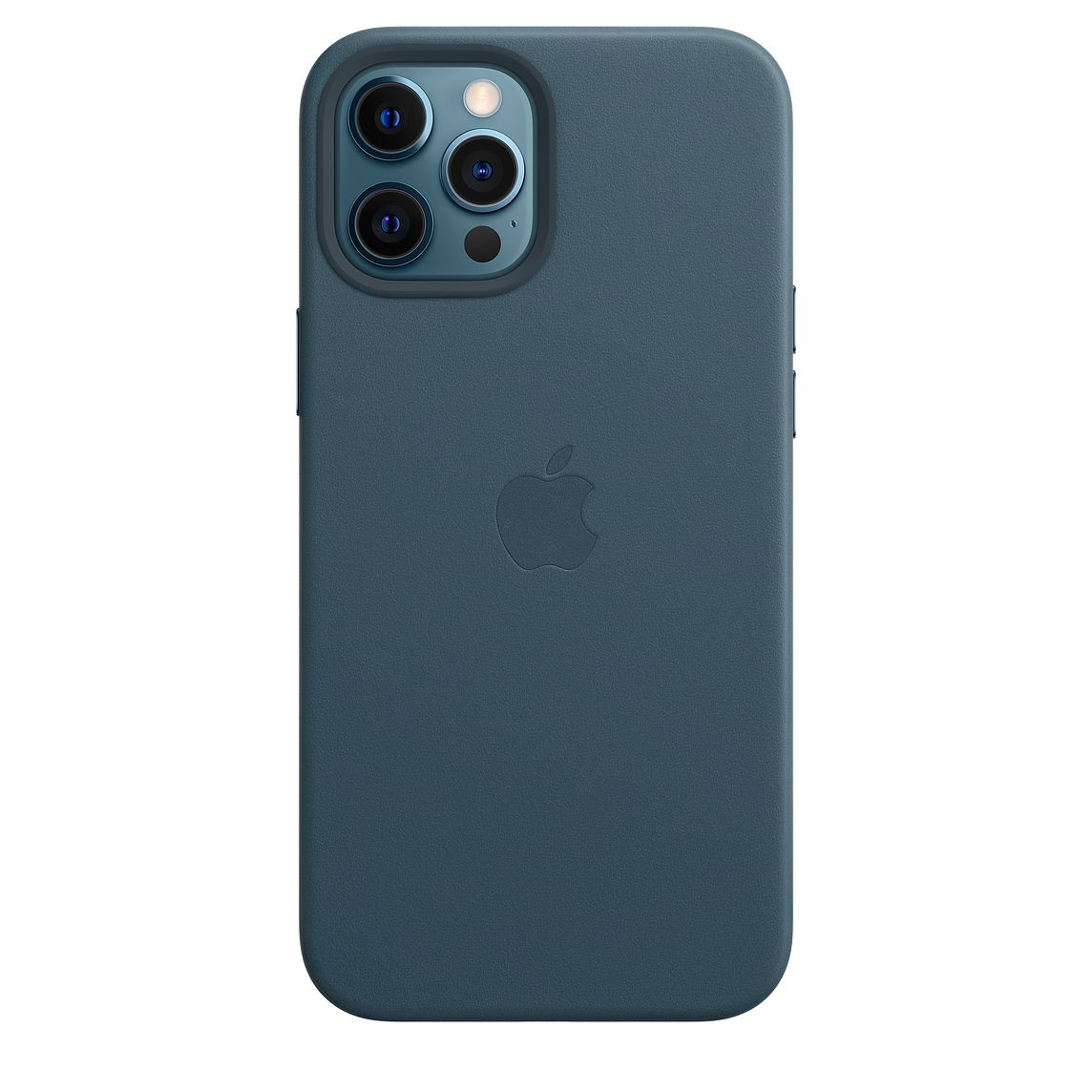 Apple iPhone 12 Pro Max Leather Case with MagSafe Baltic Blue