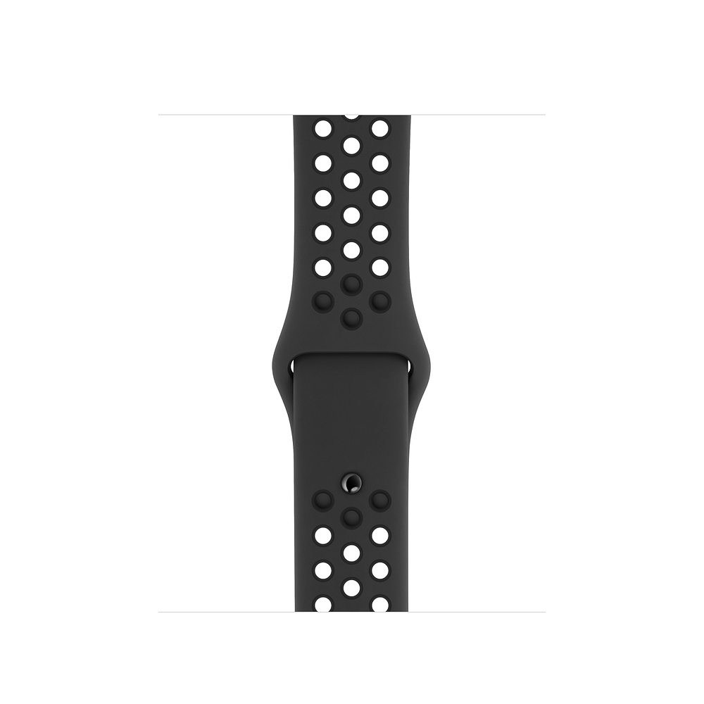 Apple Watch 44 mm Anthracite/Black Nike Sport Band S/M & M/L