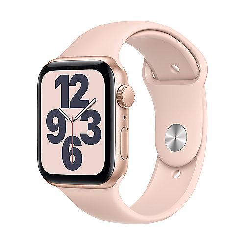 Apple Watch SE Alu Gold GPS 44mm Pink Sand Sport Band Regular