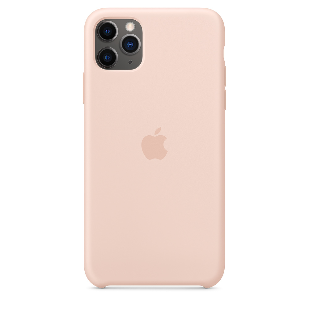 Apple iPhone 11 Pro Max Silicone Case Pink Sand
