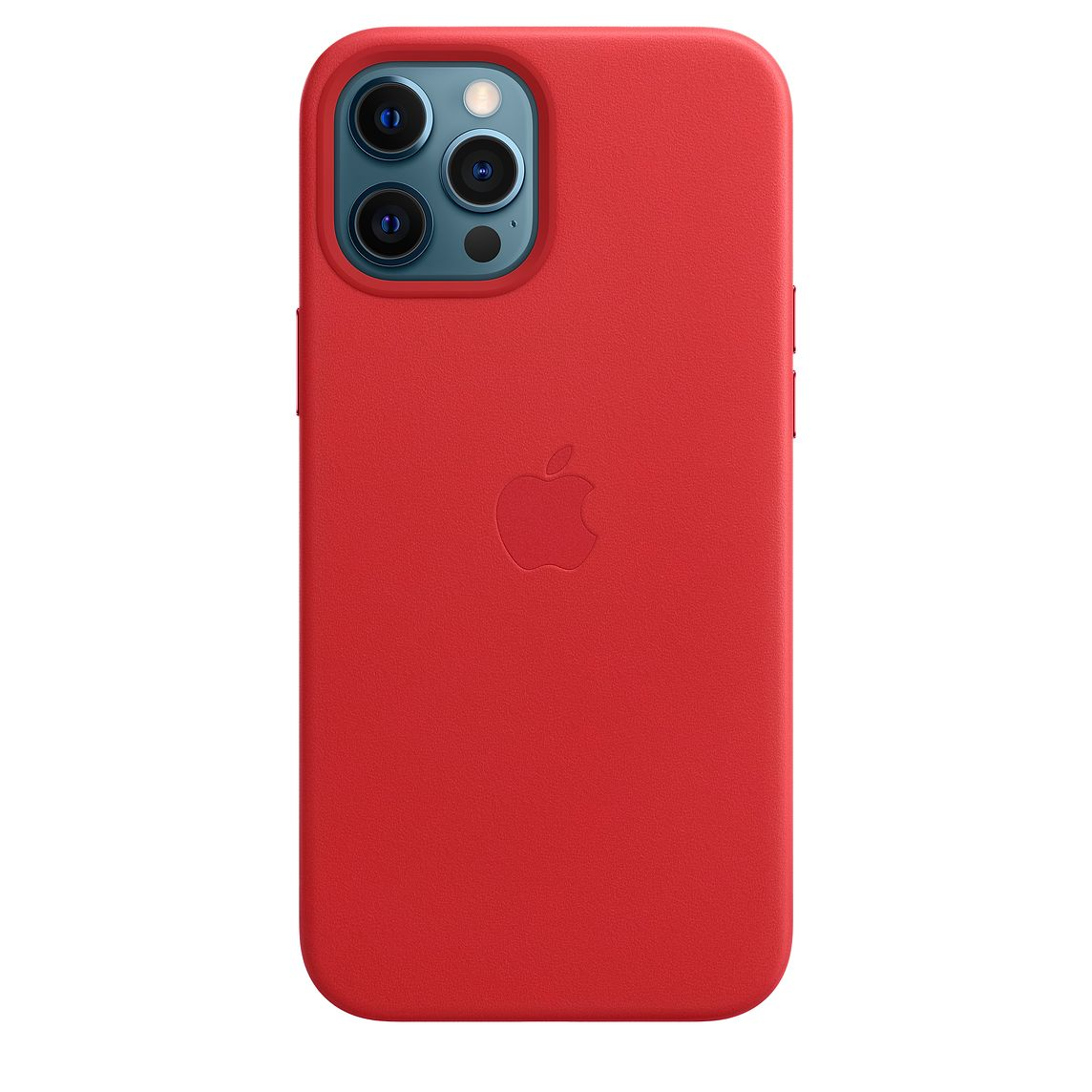 Apple iPhone 12 Pro Max Leather Case with MagSafe (PRODUCT)RED