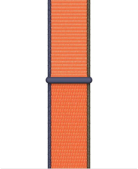 Apple Watch 44 mm Kumquat Sport Loop