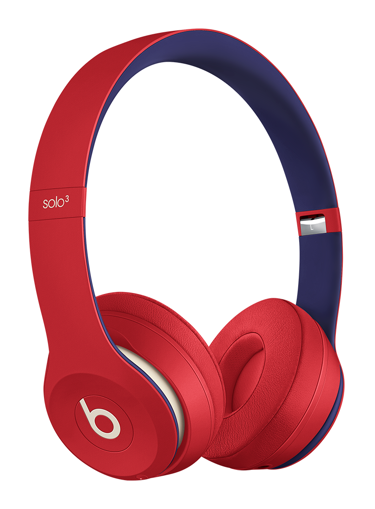 Beats Solo3 Wireless Kopfhörer Club Coll. On-Ear (clubrot)