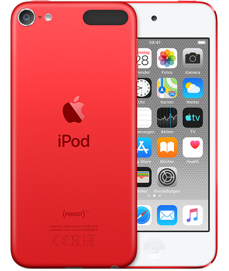 Apple iPod touch 128GB PRODUCT (RED) (2019)