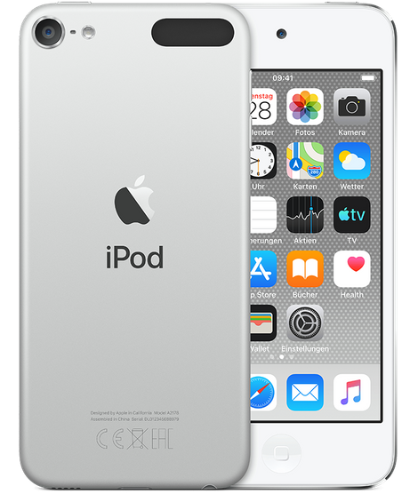 Apple iPod touch 128GB Silver (2019)