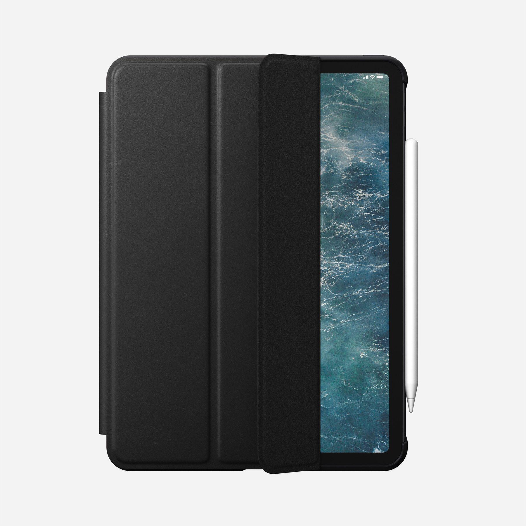 "Nomad Rugged Leather Folio Case für iPad Pro 11"" Black"