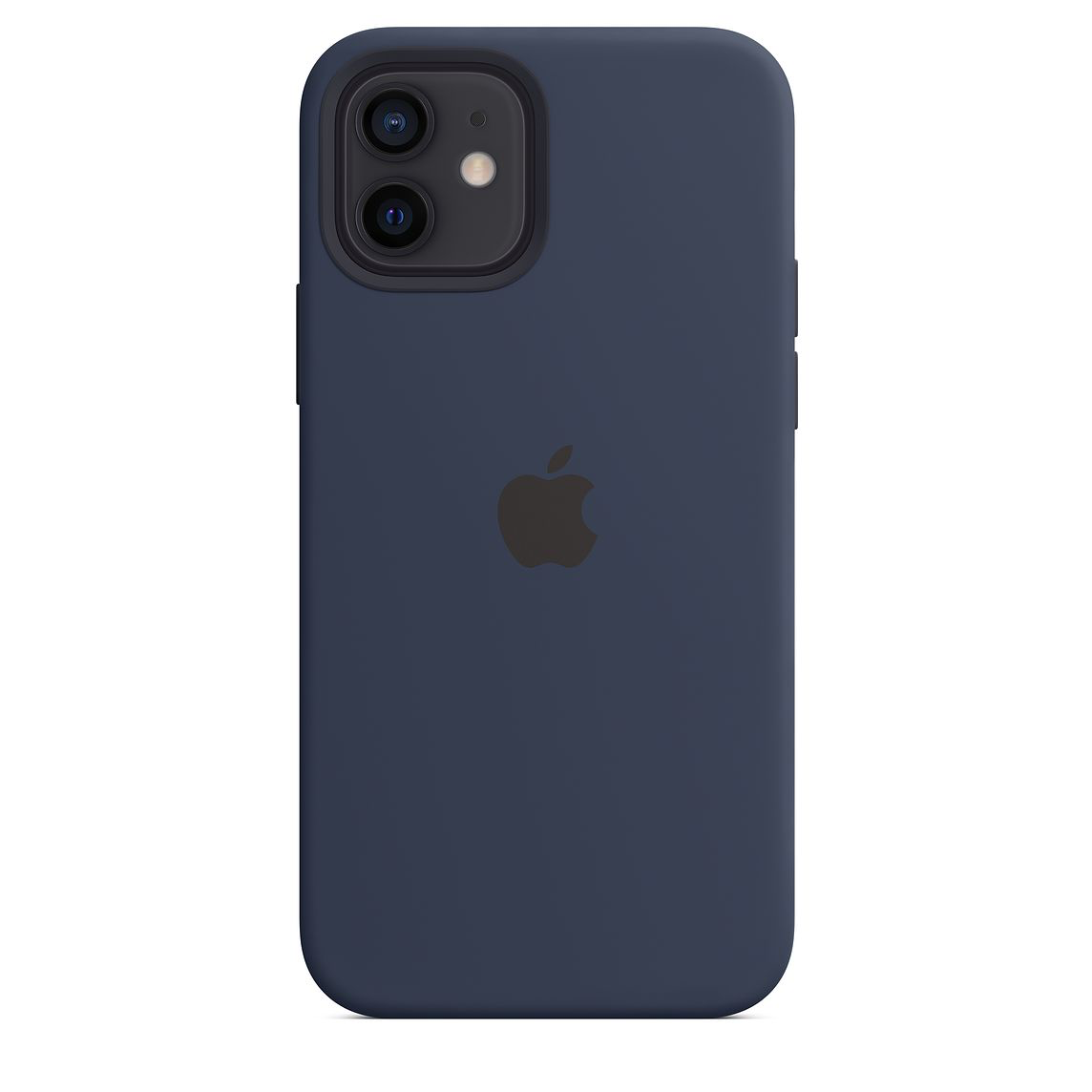 Apple iPhone 12/12 Pro Silicone Case with MagSafe Deep Navy
