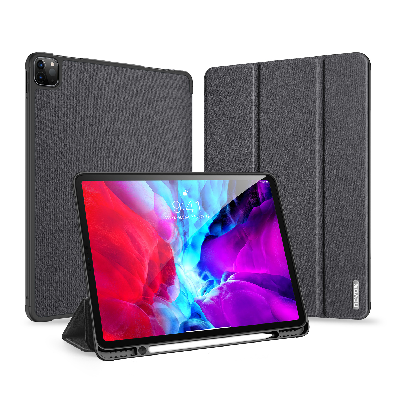 "Nevox Vario Series - iPad Pro 12.9"" 2020 Booktasche, basalt"