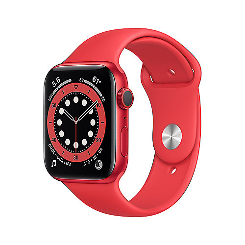 Apple Watch Ser6 Alu PRODUCT(RED) GPS 44mm PRODUCT(RED) Sport Band Regular
