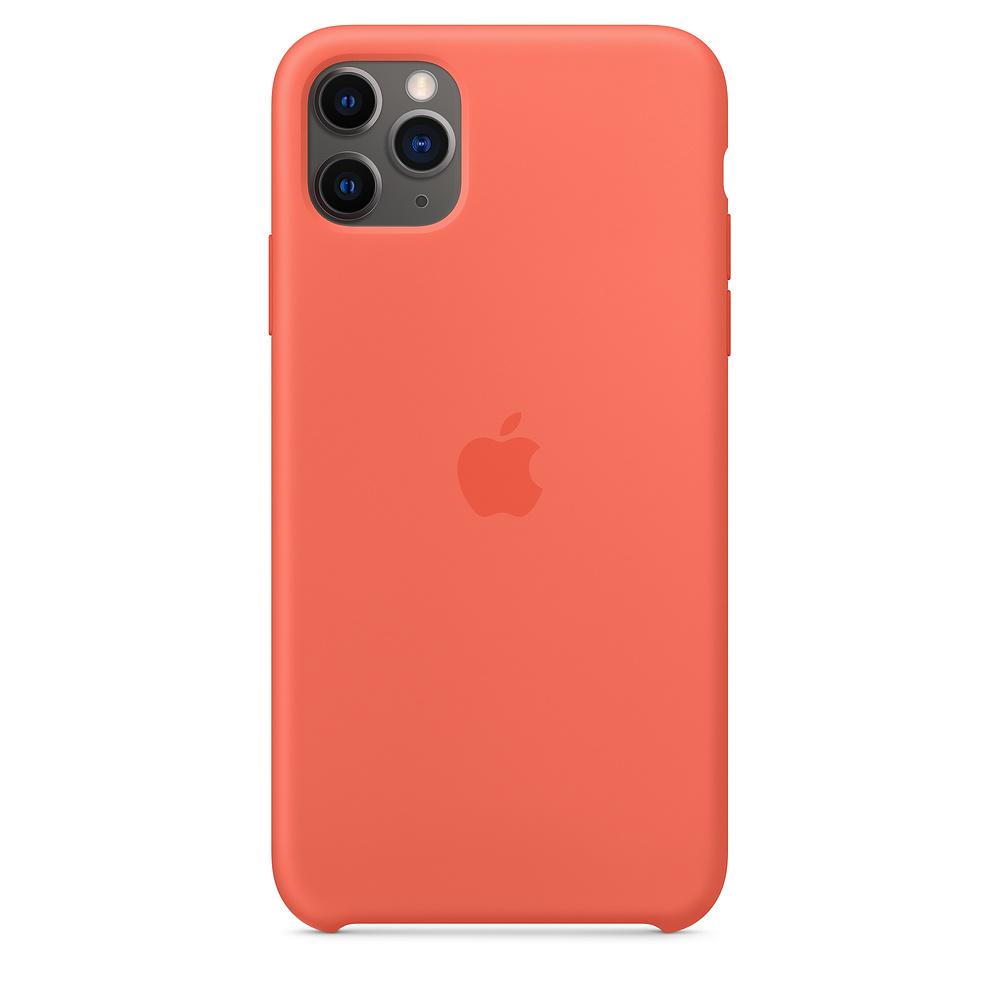 Apple iPhone 11 Pro Max Silic one Case Clementine (Orange)