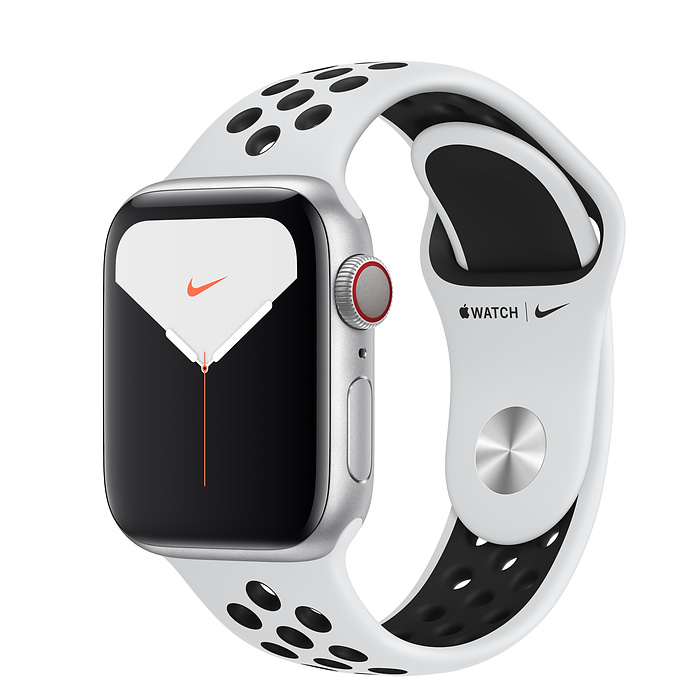 Apple Watch Nike5 Alu Silver GPS + Cell. 40 mm Plat/Bl. Nike S