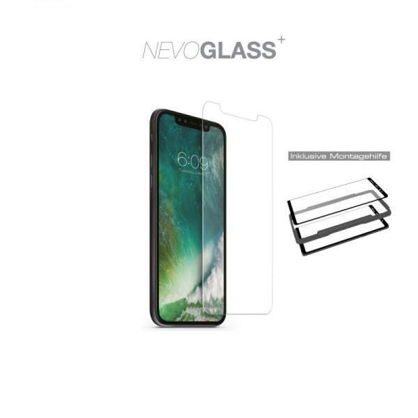 Nevox NEVOGLASS - iPhone XR tempered Glass mit EASY APP