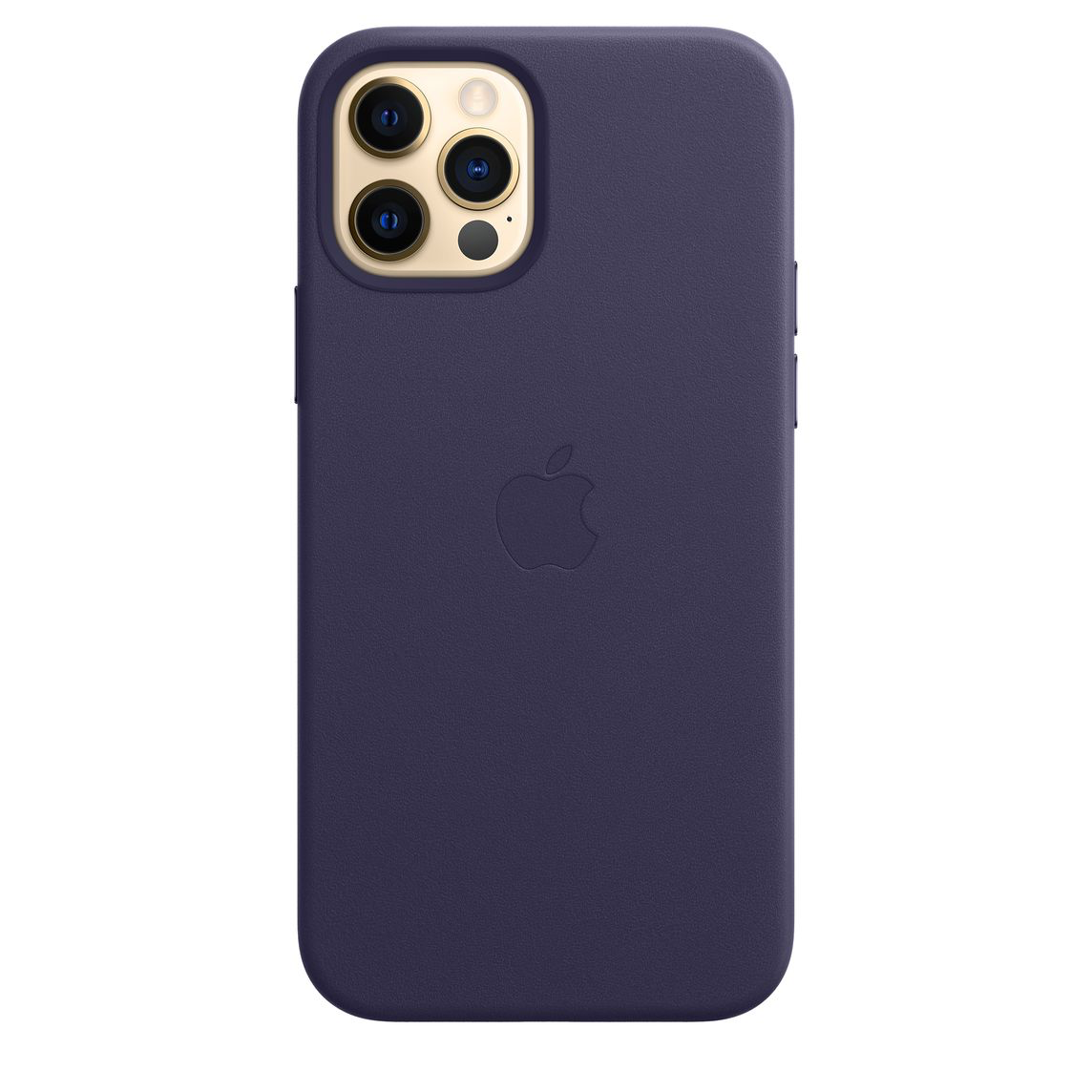 Apple iPhone 12 Pro Max Leather Case with MagSafe Deep Violet