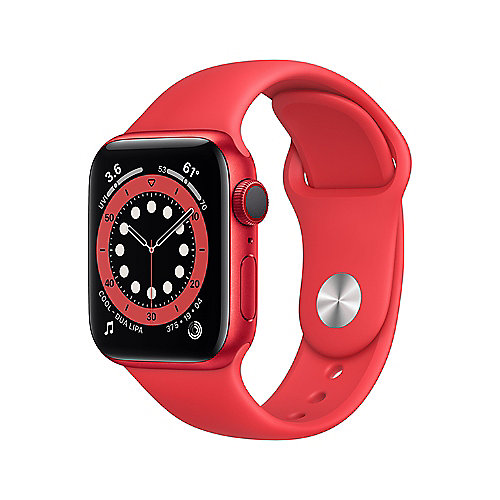 Apple Watch Ser6 Alu GPS + Cell 40 mm PRODUCT(RED) Sport Band Regular