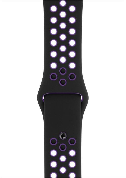 Apple Watch 40mm Black/Hyper Grape Nike Sport Band S/M&M