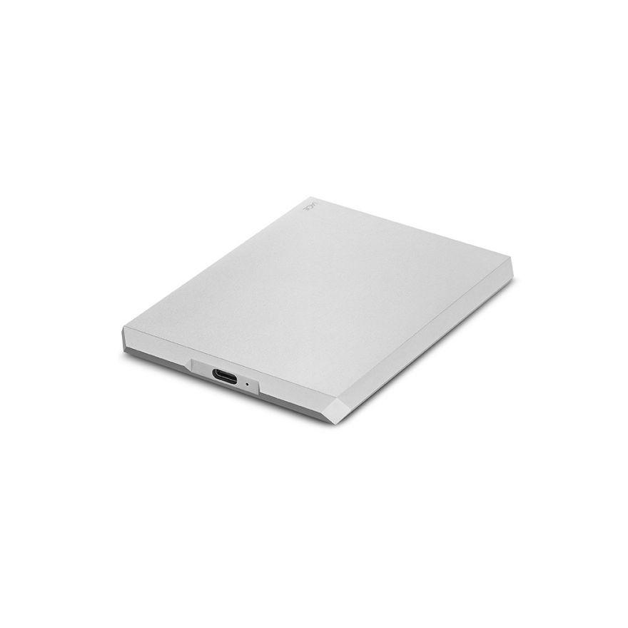 "LaCie 6,4 cm (2,5"") 2 TB Mobile Drive USB-C Moon Silver"