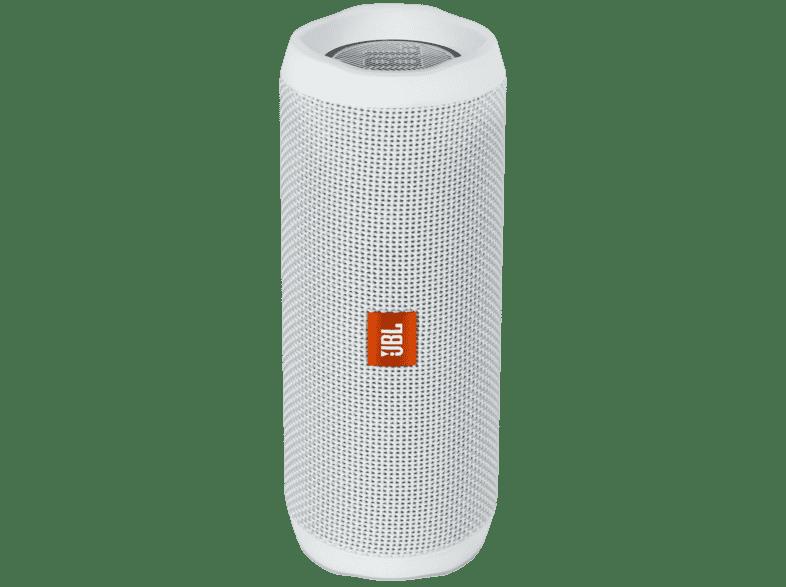 JBL Flip 4 Bluetooth Lautsprecher waterproof IPX7, weiß