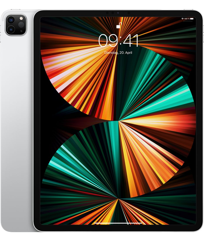 "Apple iPad Pro 12,9"" M1 Wi-Fi + Cell. 128 GB Silver (2021)"