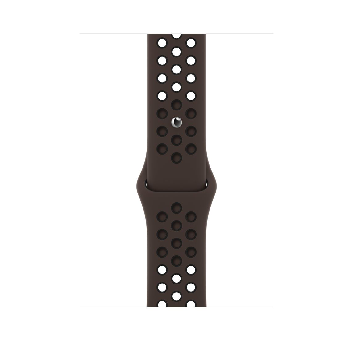 Apple Watch 40 mm Ironstone/ Black Nike Sport Band Regular