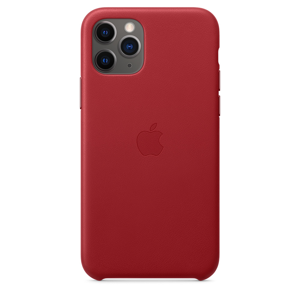 Apple iPhone 11 Pro Leather Case (PRODUCT)RED
