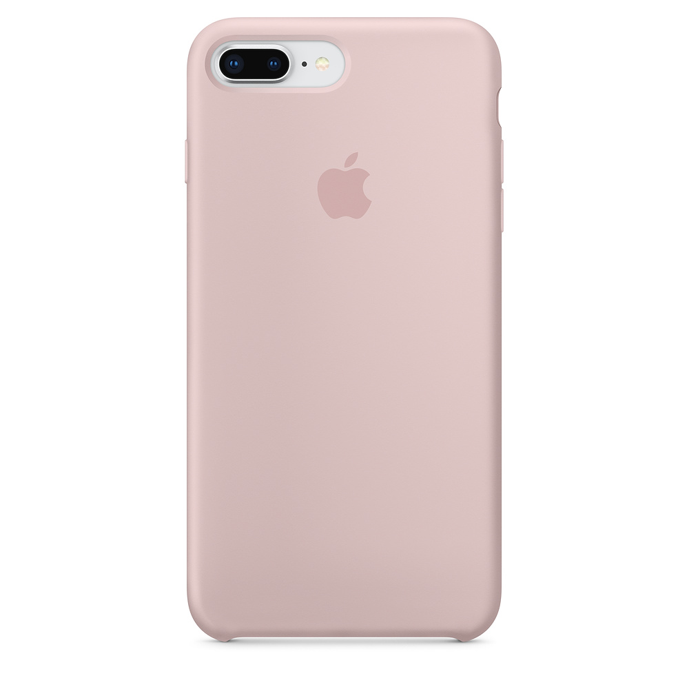 Apple iPhone 8 Plus / 7 Plus Silicone Case - Pink Sand