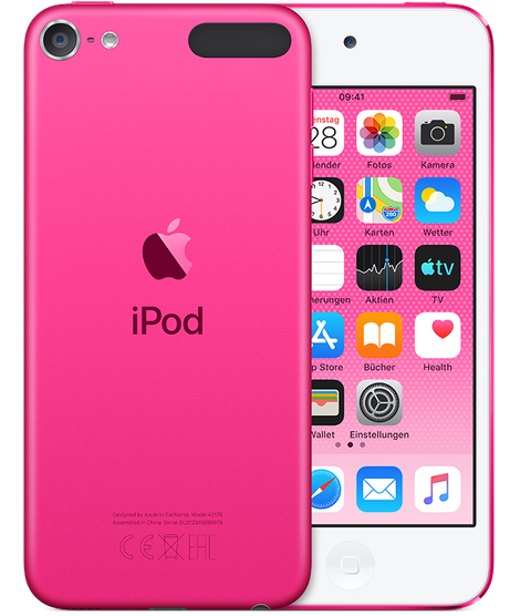 Apple iPod touch 128GB Pink (2019)