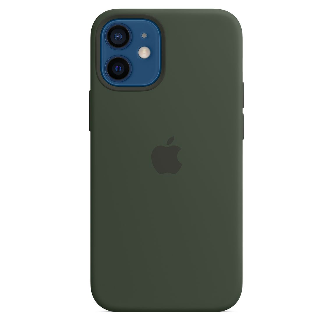 Apple iPhone 12 mini Silicone Case with MagSafe Cypress Green